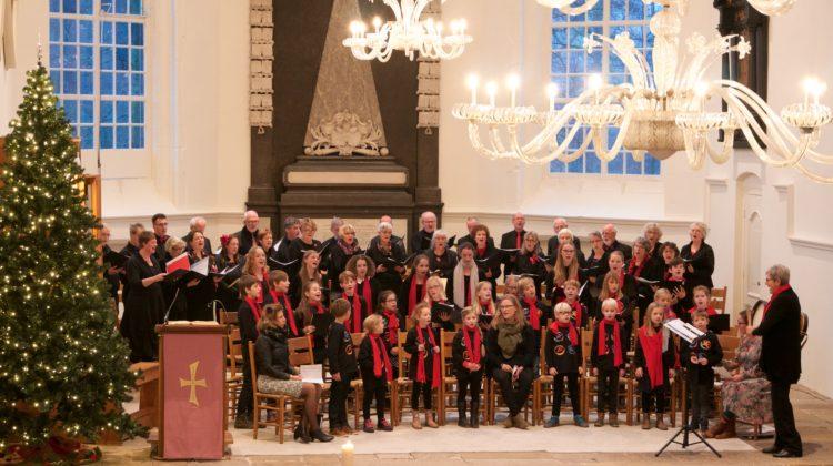 Optreden koorschool Arnhem en het Apeldoorns Vocaal Ensemble